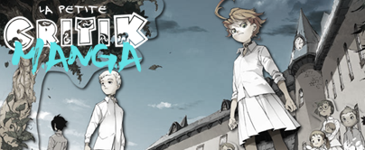 La Petite Critik Manga : The Promised Neverland - Tome 1