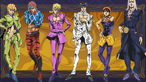 Jojo's Bizarre Avdenture : Golden Wind