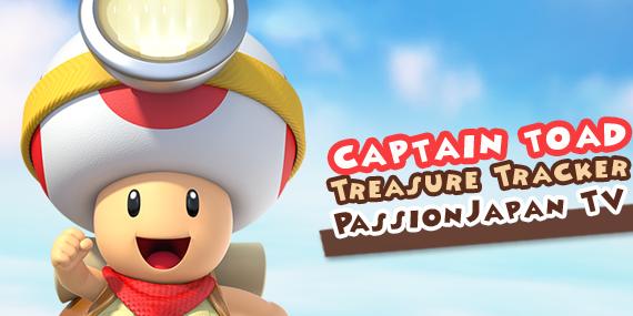 Captain Toad : Treasure Tracker - passionjapan