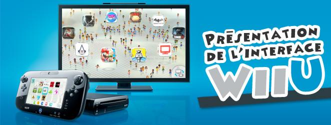PJTV : Pr�sentation de l'interface de la Wi U - passionjapan