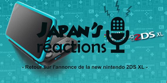 Retour sur l'annonce de la New Nintendo 2DS XL - passionjapan