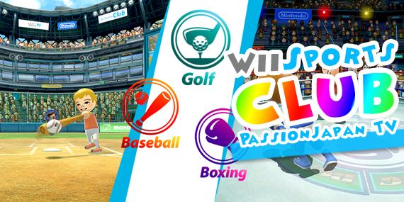 Wii Sports CLUB sur Wii U - passionjapan